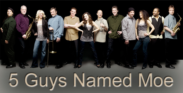 5 Guys Named Moe band image